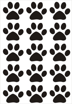 Cats Paws Vinyl Stickers